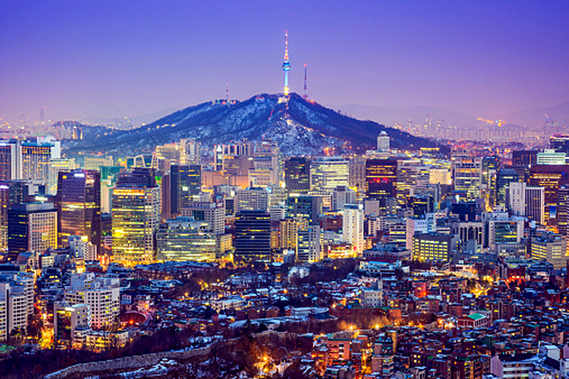 N Seoul Tower & Traditional Village Tour
