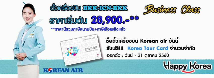 Business class promotion 28900